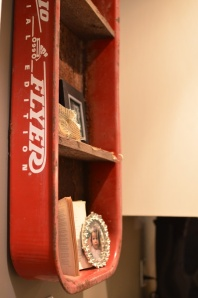 red flyer shelf