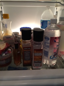 EBS symptom: after searching everywhere, you find the salt and pepper in the fridge