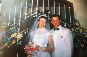 Mom & Dad on their wedding day
