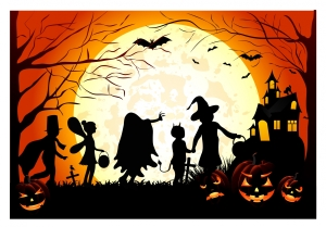 Halloween_Children_trick_or_treat