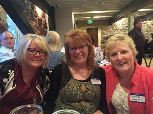 Cathy, Joan, me